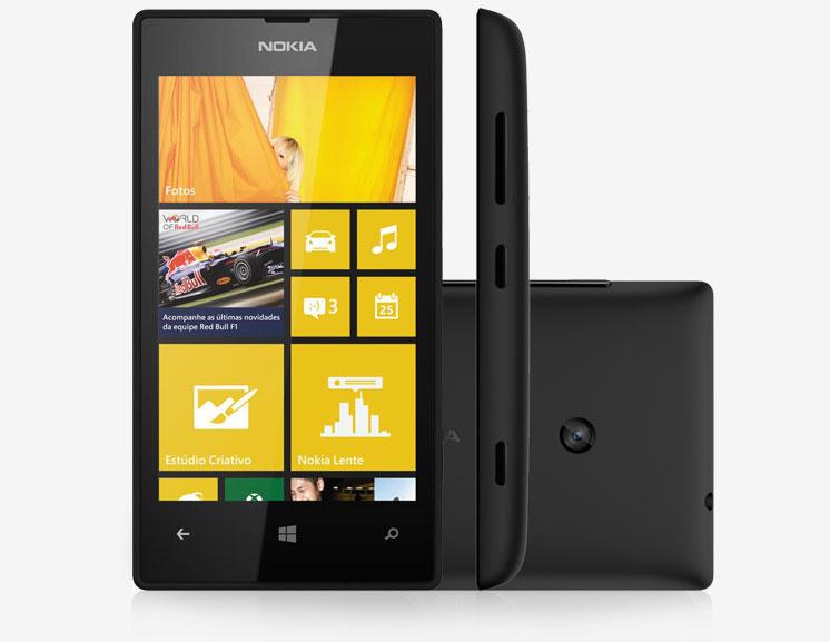 d98ba6f09058e Smartphone Nokia Lumia 520 Windows Phone 8 Tela 4″ 8GB 3G Wi-Fi ...